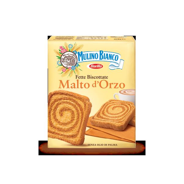 Fette Biscottate Malto d'Orzo