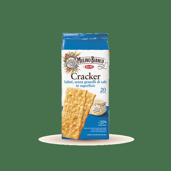 Sfoglia di grano Cracker a ridotto contenuto di sale