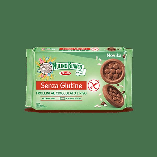 Frollini al Cioccolato e Riso Senza Glutine