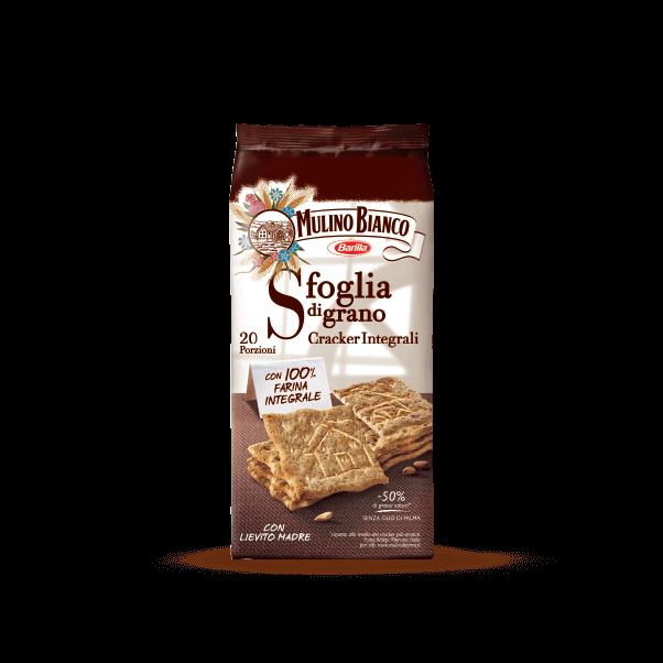 Sfoglia di grano Cracker Integrali